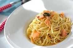 サーモンと大葉のパスタのレシピ・作り方 - 簡単プロの料理レシピ | E・レシピ