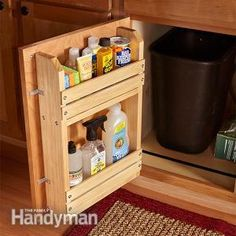 40 Clever Storage Ideas for a Small Kitchen - DIY Projects for Making Money - Big DIY Ideas