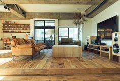 4LDKのマンションをフルリノベーションしたお部屋の紹介。
