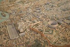 Maqueta Roma antigua