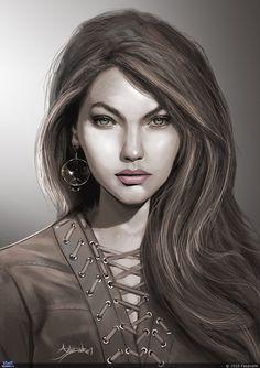 Девушка — Компьютерная графика и анимация — Render.ru
