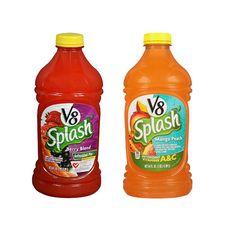 En Walgreens puedes conseguir el Jugos V8 Splash de 64 oz a 2 x $5.00 en especial. Compra (2) y utiliza (2) cupones de manufacturero de ...