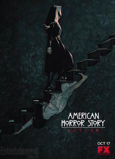 "Get Committed. ""American Horror Story: Asylum"" Premieres October 17, 2012. - And i can't wait!!!! Looks just as amazing as the first season!"