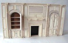 Dollhouse Miniature Antique Victorian Vintage Furniture Dinning Room by Thorne | eBay