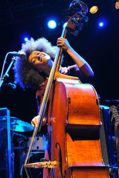 Esperanza Spalding, ive been really obsessed with her music lately... shes so good!