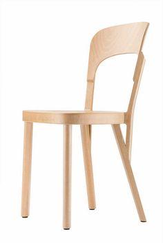 Silla 107, la silla Thonet modernizada (en: Blog del diseño)