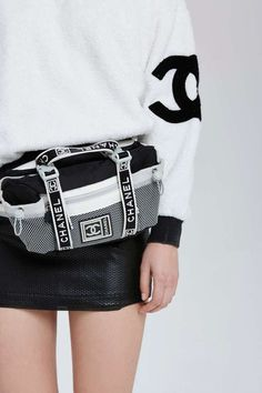 80af8d68553 Vintage Chanel Sport Fanny Pack - Accessories | Chanel #chanelfannypack