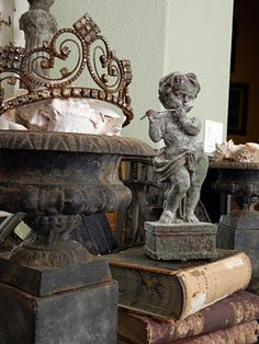 What gorgeous salvaged pieces {swoon}