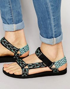 Teva | Teva Original Universal Pattern Sandals at ASOS