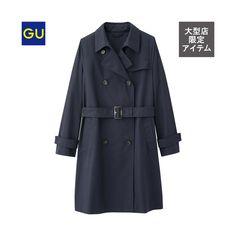 (GU)トレンチコート  オンラインストア・大型店商品  店舗一覧はこちら>>  ¥3,990 +消費税  商品番号:281176