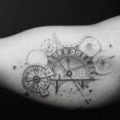 Time Tattoo by Balazs Bercsenyi