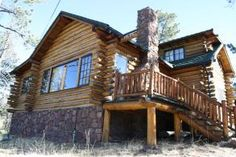 Beautiful Mountain Log Cabin, Vacation Rental Cabin in Cascade