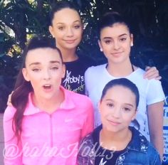 Added by @hahah0ll13 Dance Moms Kendall, Maddie, Mackenzie, and Kalani
