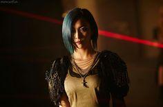 Girl in the dark Luna Fx, Amber, Song Qian, Victoria, Krystal, Asian Beauty, Hair Cuts, Chokers, Brass