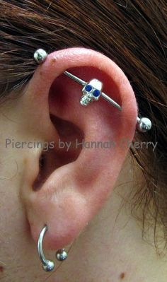 The process of piercing is done with the help of a clean and sterile hollow needle piercing needle of 14g normally. Description from piercingeasily.com. I searched for this on bing.com/images