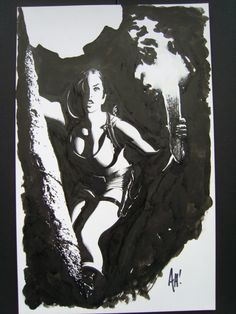 Tomb Raider:Journeys#3 cover by Adam Hughes Comic Art