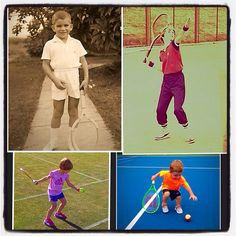 #tbt The Kriek family: Johan (age 5), Daga (age 9), Karolina (age 3) & Kristian (age 2), at beginning stages of their tennis journeys. They all started young and that's why the Johan Kriek Tennis Academy recently opened the QuickStart program for kids as young as 4-years old. Bring your little ones out and join the fun! #JohanKriekTennisAcademy #JohanKriek #kidstennis #Quickstart #tennis #juniortennis #Charlotte #NC #tennisforkidsinCharlotte #throwbackthursday