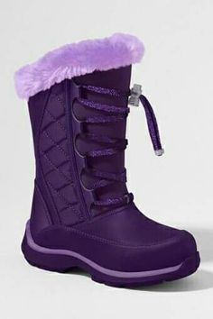 "✤PURPLE✤girls boots named ""ryan boots""! Purple Stuff, Purple Love, All Things Purple, Shades Of Purple, Deep Purple, Cute Shoes, Me Too Shoes, Or Violet, Purple Boots"