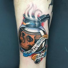 8 Admirable Tips: Peppermint Coffee Creamer coffee decor above cabinets.Coffee Scrub Before And After blue bottle coffee interior. Trendy Tattoos, New Tattoos, Cool Tattoos, Tatoos, Badass Tattoos, Awesome Tattoos, Tattoo Crane, I Tattoo, Tattoo Forearm