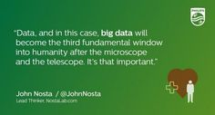 Data becomes the new window into humanity after the microscope and telescope