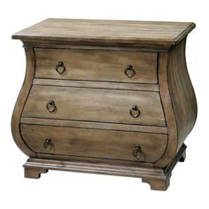 Samina Weathered Pine 29.25-Inch Accent Chest