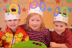 100th Day Hats (from A Place Called Kindergarten)