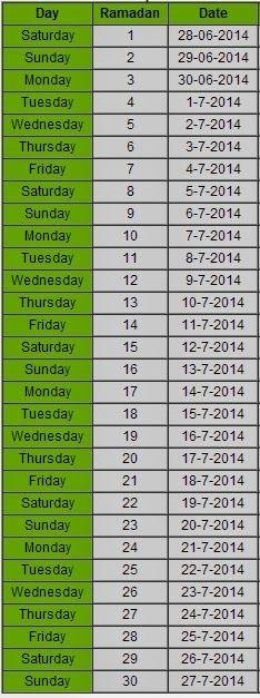 Ramadan 2014 Calendar http://www.islam44.net/2014/05/ramadan-2014-calendar.html