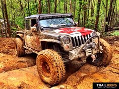 Jeep and Nothin but Mud....
