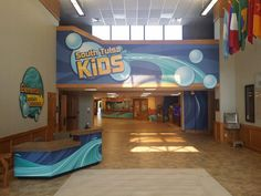 South Tulsa Baptist Church childrens ministry area designs.