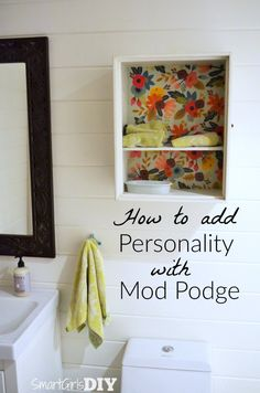 Add Personality with Decoupage - Quick Tip Tuesday
