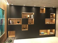 ideas home office furniture wall units Office Furniture Design, Office Interior Design, Office Interiors, Home Furniture, Niche Design, Living Room Shelves, Display Shelves, Open Shelves, Cabinet Design
