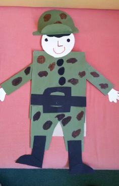 ...Το Νηπιαγωγείο μ' αρέσει πιο πολύ.: Το όνειρο του στρατιώτη Special Needs, Ronald Mcdonald, Activities For Kids, Children, Blog, Diy, Crafts, Fictional Characters, How To Take Photos