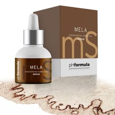 The MELA concentrated corrective serum delivers strong skin brightening effects whilst evening out skin tone, leaving skin healthy and hydrated. Anti Aging Skin Care, Natural Skin Care, Liver Spot, Spots On Legs, Skin Resurfacing, Beauty Soap, Skin Brightening, Facial Cleanser