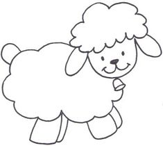 Sheep Coloring Pages For Preschool Preschool And Kindergarten