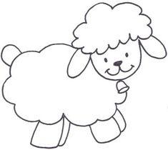 Sheep Coloring Pages for Preschool - Preschool and Kindergarten ...