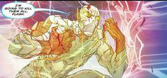The Flash foe Godspeed