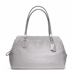 Loving it! <3 Coach :: MADISON LEATHER CARRYALL