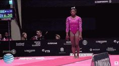 Any elite athlete is under pressure to excel. World champion gymnast Simone Biles is under pressure to be inevitable.