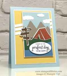 Always an Adventure, Outdoor Adventure Framelits, Bunch of Blossoms, Stampin' Up!, Brian King, FabFri89