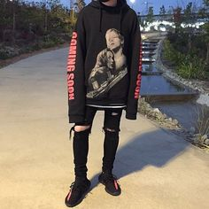 Grunge Outfits, Edgy Outfits, Grunge Fashion, Boy Fashion, Girl Outfits, Fashion Outfits, Streetwear Mode, Streetwear Fashion, Aesthetic Fashion