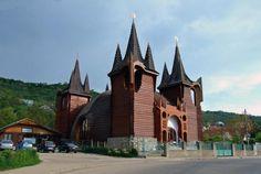 imre makovecz - Kolozsvár - Református templom | Élőépítészet