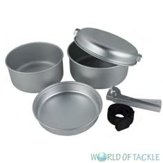5 pc #piece aluminium camp camping #fishing cook set frying pan pots #yellowstone,  View more on the LINK: http://www.zeppy.io/product/gb/2/391501835975/