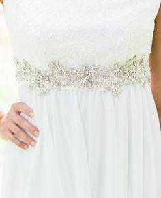 BELINDA Wedding sash, wedding belt, Bridal sash, wedding dress sash, bridal belt, beaded sash