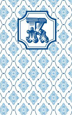Kappa-Kappa-Gamma Wallpaper May Designs