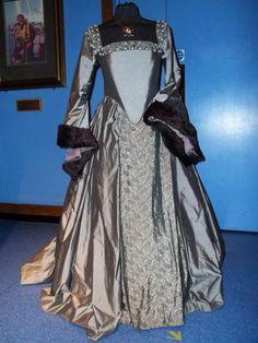 Anne Boleyn execution gown. HBO did an amazing job with their replica!