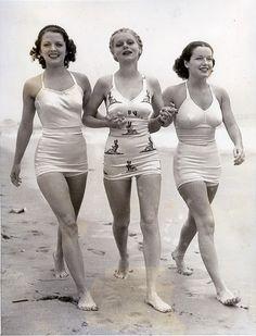 Nejlepší plavky ve 20. a 30. letech minulého století. Už tehdy to bylo sexy