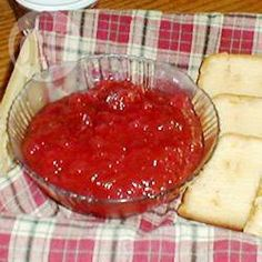 Easy Apple Rhubarb Jam @ allrecipes.co.uk