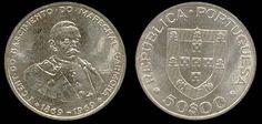 50 Escudos -prata, 1971
