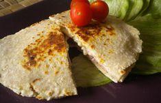 Régime Dukan (recette minceur) : Pain façon naan fourré (à la poêle) #dukan http://www.dukanaute.com/recette-pain-facon-naan-fourre-a-la-poele-8543.html