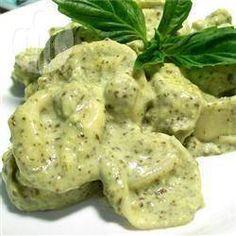 Creamy basil sauce @ allrecipes.co.uk